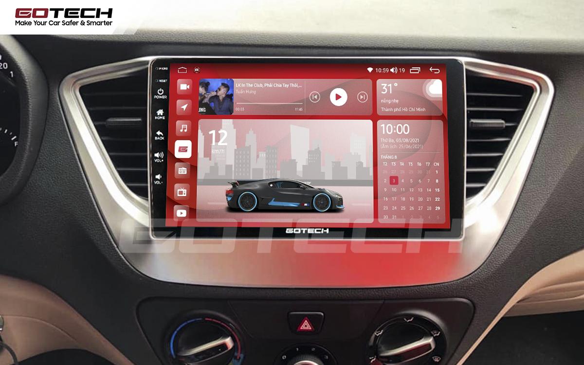 Màn hình rộng 9 inch cho xe Hyundai Accent 2018-2020