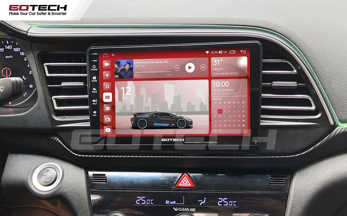Màn hình rộng 9 inch cho xe Hyundai Elantra 2019-2020