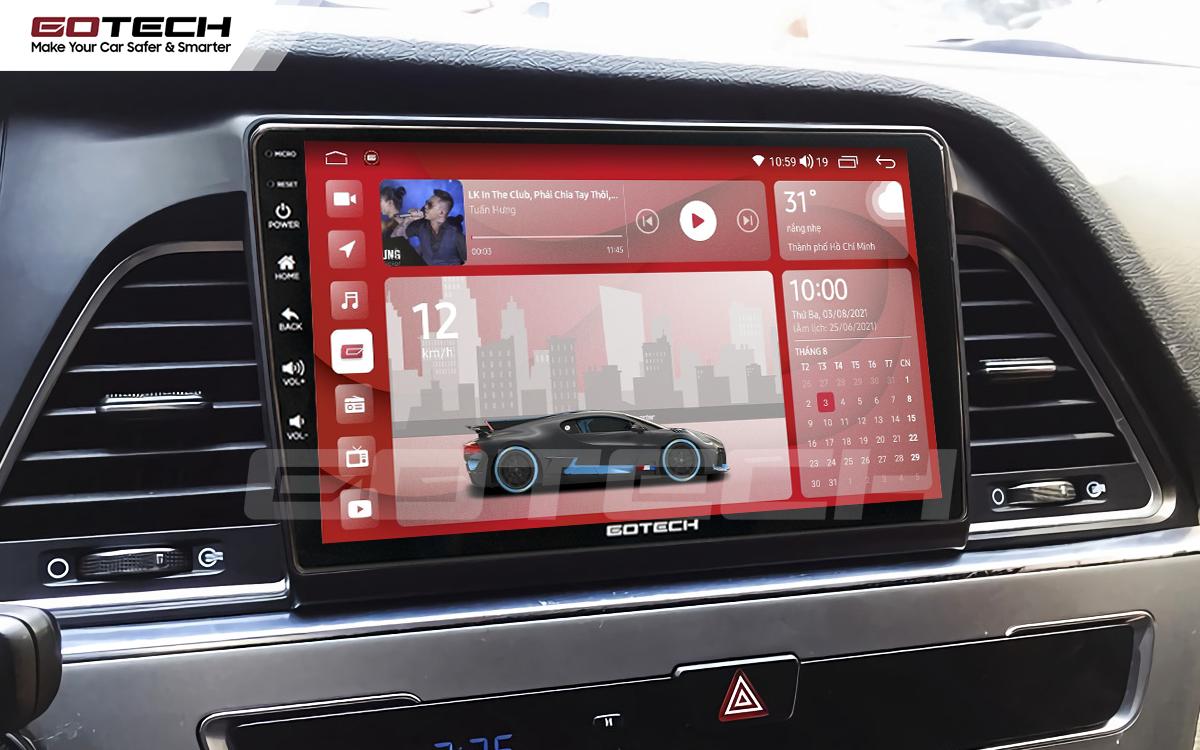 Màn hình rộng 9 inch cho xe Hyundai Sonata 2015-2018