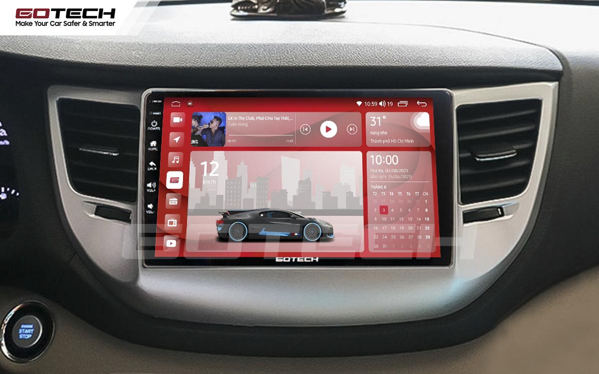 Màn hình rộng 9 inch cho xe Hyundai Tucson 2016-2018