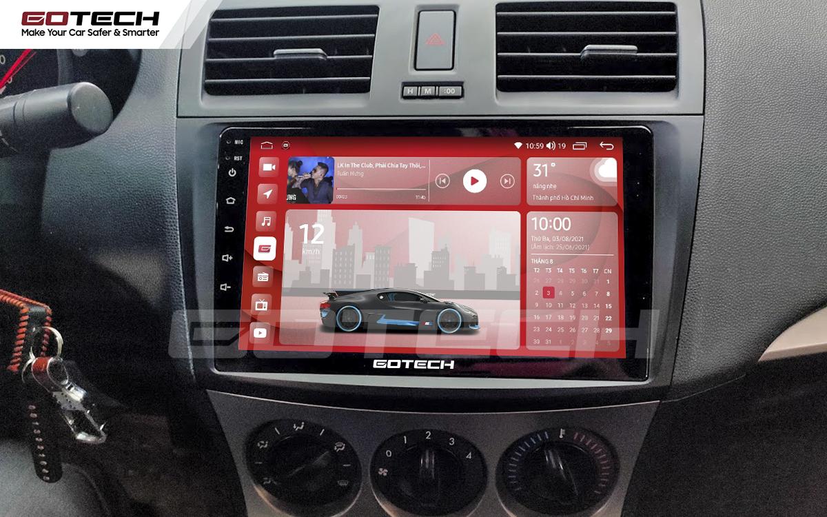 Màn hình rộng 9 inch cho xe Mazda 3 2010-2013