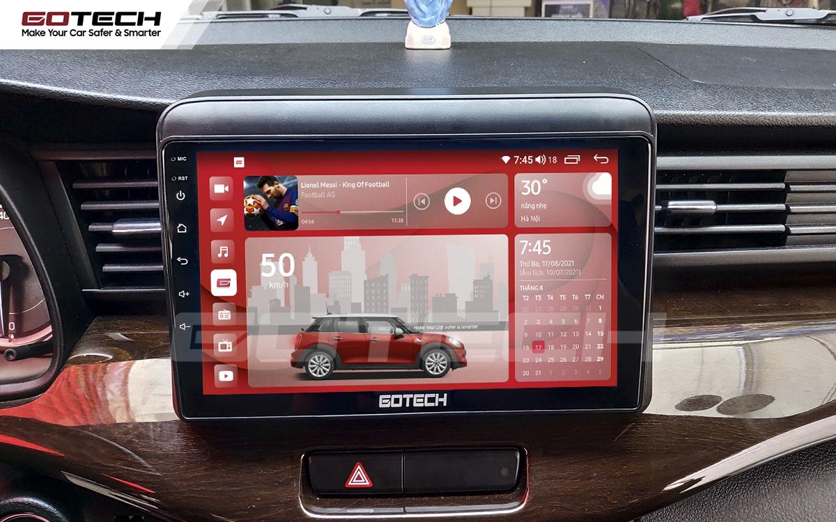 Màn hình rộng 9 inch cho xe Suzuki Ertiga 2019-2020