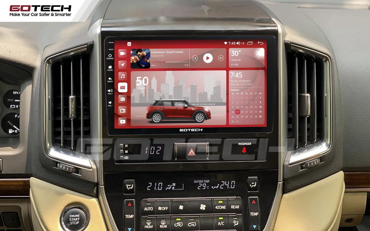 Màn hình rộng 9 inch cho xe Toyota Land Cruiser 2016-2019