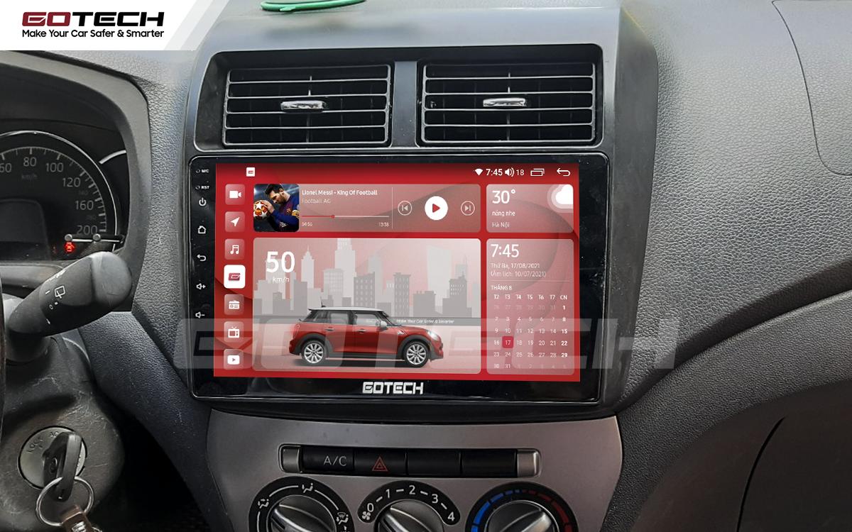 Màn hình rộng 9 inch cho xe Toyota Wigo 2018-2020