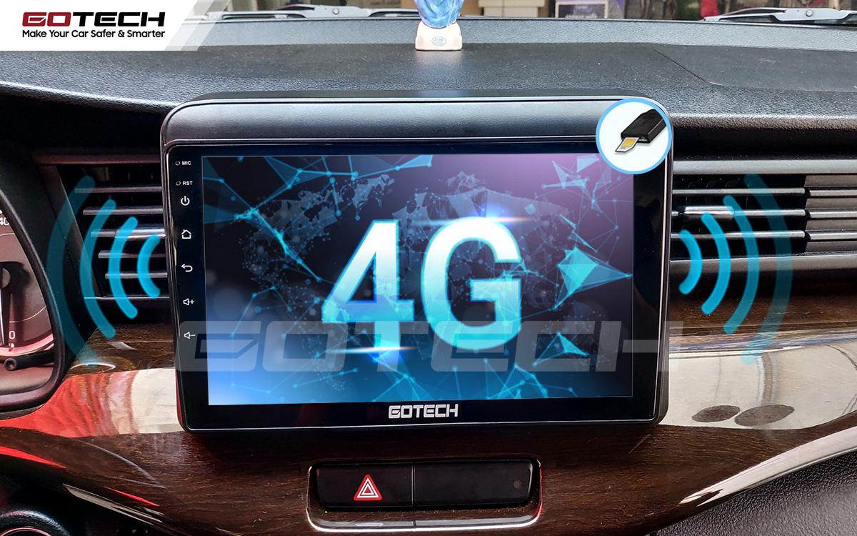 Sim 4G kết nối internet tốc độ cao trên màn hình ô tô GOTECH cho xe Suzuki Ertiga 2019-2020