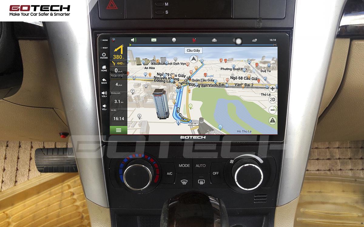 Tích hợp các bản đồ dẫn đường thông minh và thao tác dễ dàng cho xe Chevrolet Captiva 2013-2015