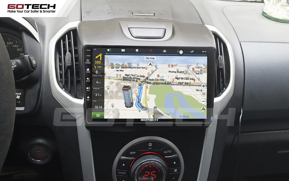 Tích hợp các bản đồ dẫn đường thông minh và thao tác dễ dàng cho xe Chevrolet Colorado 2015-2016