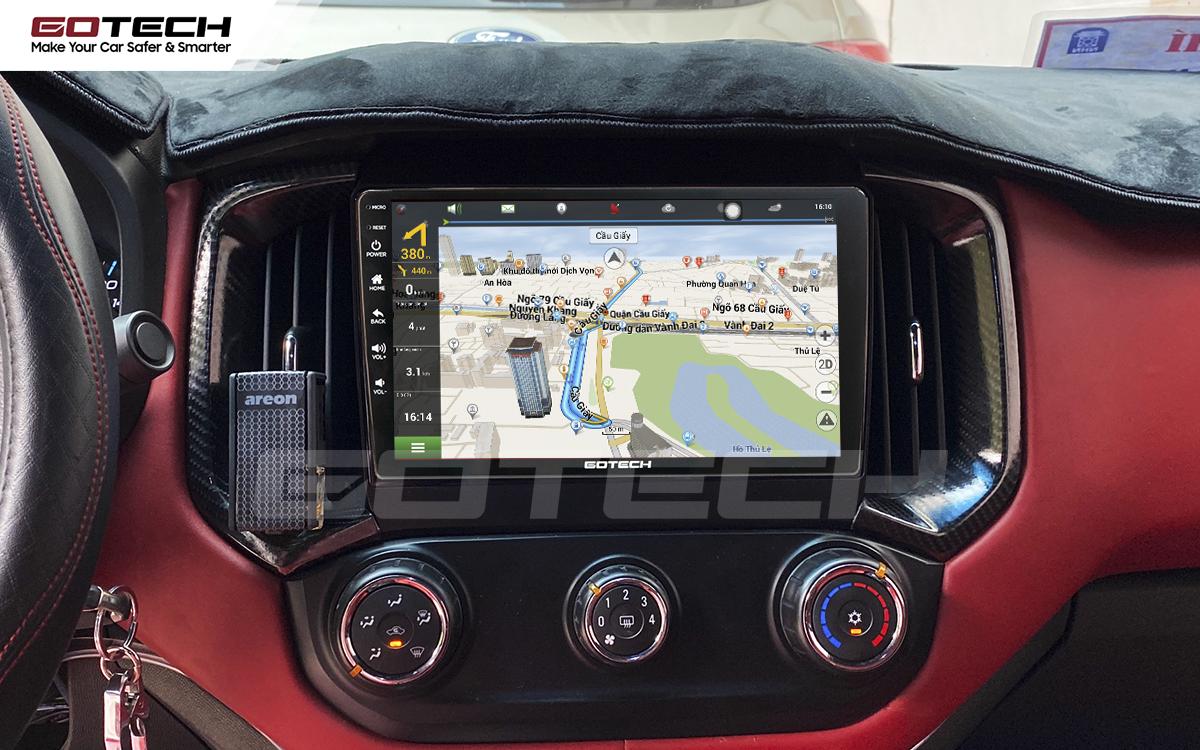 Tích hợp các bản đồ dẫn đường thông minh và thao tác dễ dàng cho xe Chevrolet Colorado 2017-2020