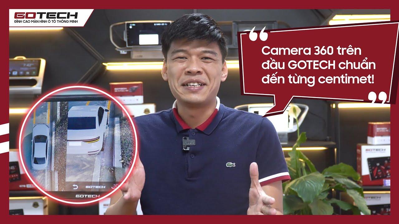 Diễn viên TRUNG RUỒI trải nghiệm thực tế màn hình GOTECH GT360 trên xe Hyundai Elantra