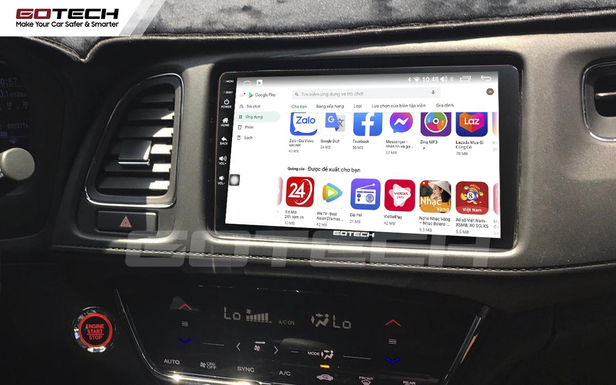 Cài đặt các ứng dụng thông qua CH Play ngay trên màn hình ô tô thông minh GOTECH