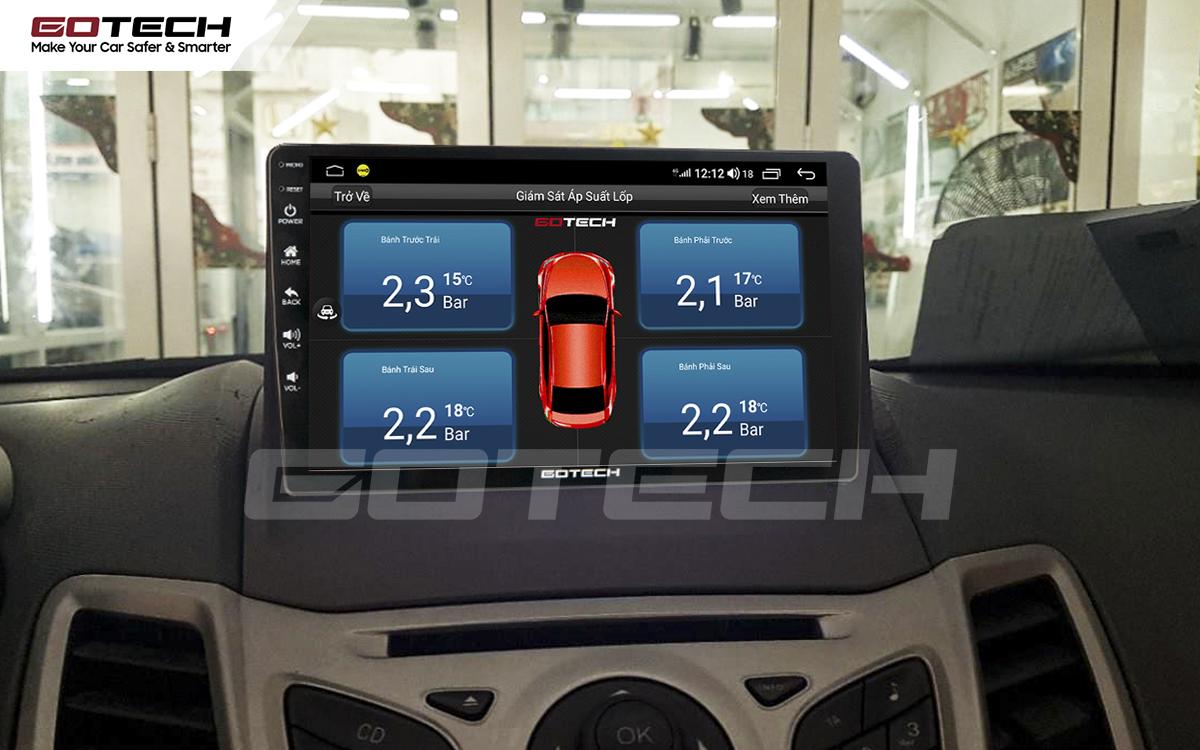 Kết nối cảm biến áp suất lốp theo dõi tình trạng lốp xe thuận tiện