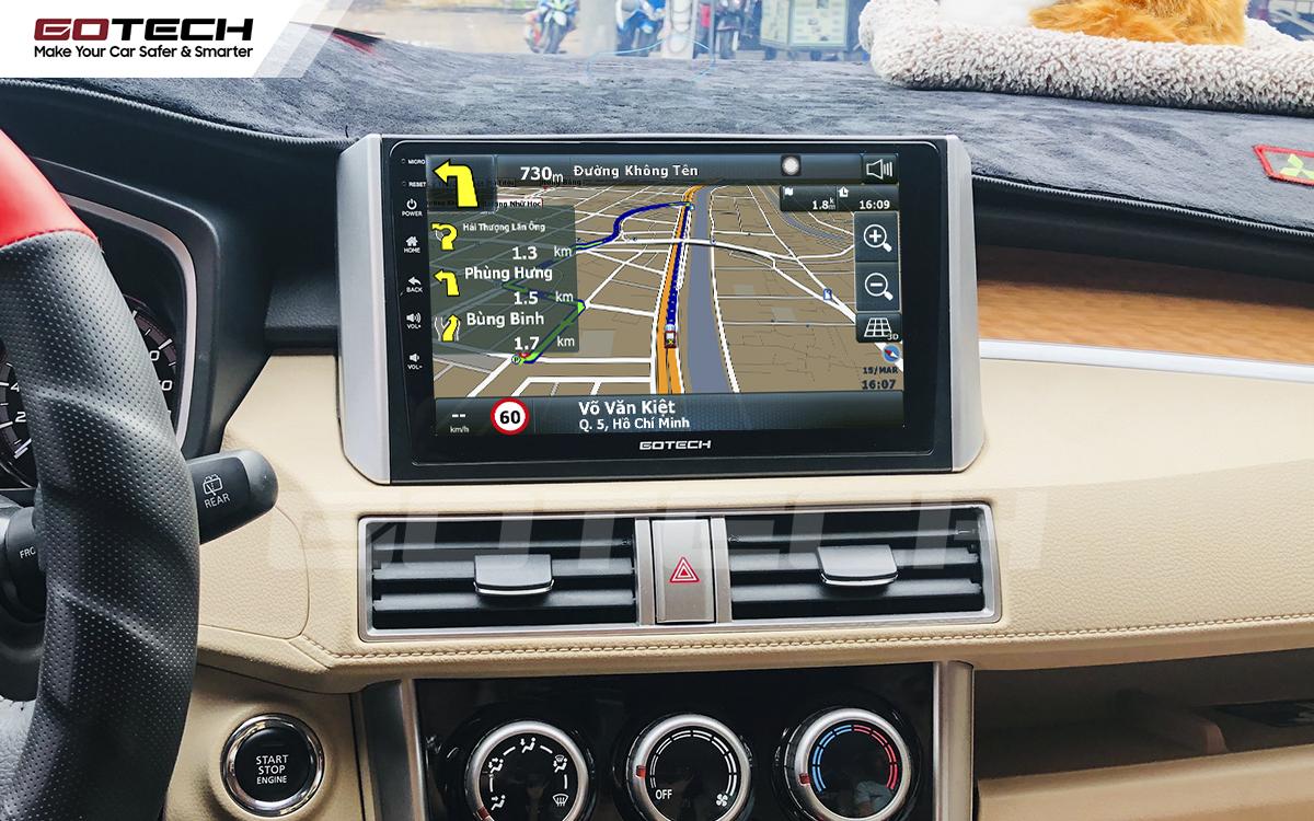 Tích hợp các bản đồ dẫn đường thông minh và thao tác dễ dàng cho xe Mitsubishi Xpander 2018-2020