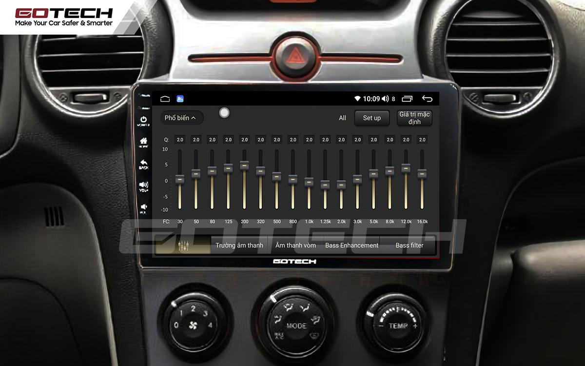 Bộ xử lý âm thanh DSP trên màn hình ô tô thông minh GOTECH