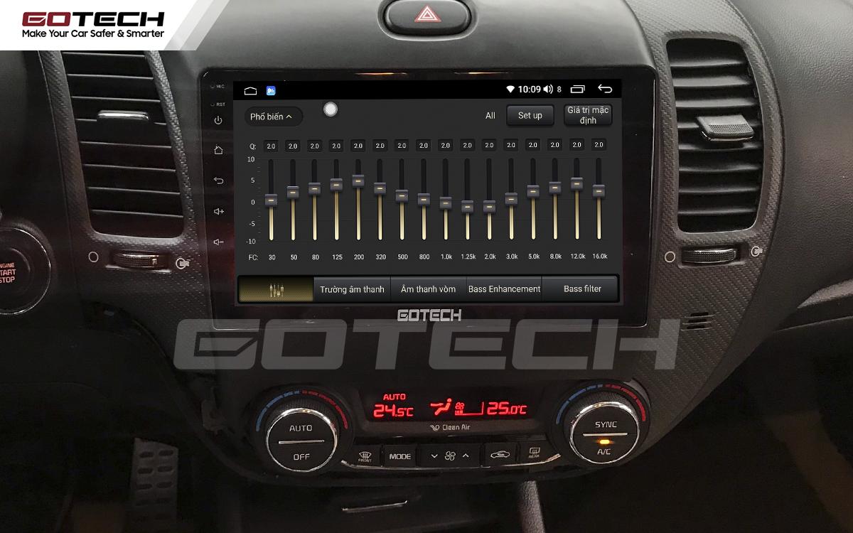 Hệ thống âm thanh số DSP trên màn hình ô tô thông minh GOTECH