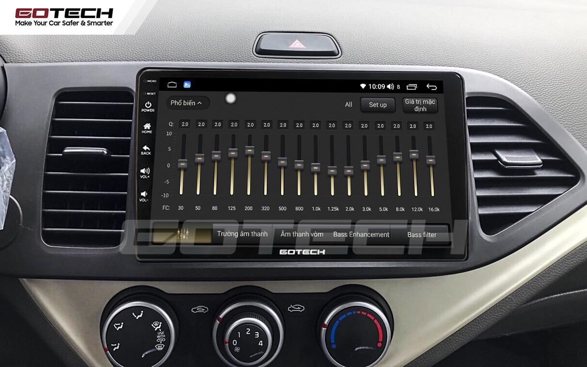 Màn hình ô tô GOTECH tích hợp bộ xử lý âm thanh số DSP mang tới trải nghiệm âm nhạc theo phong cách riêng