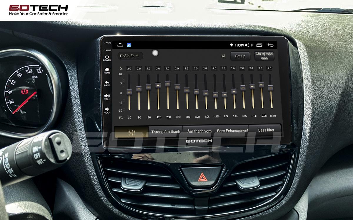 Bộ xử lý âm thanh DSP chất lượng cao trên màn hình Android GOTECH cho xe Vinfast Fadil