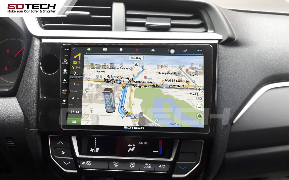 Các ứng dụng chỉ đường thông minh trên màn hình ô tô GOTECH