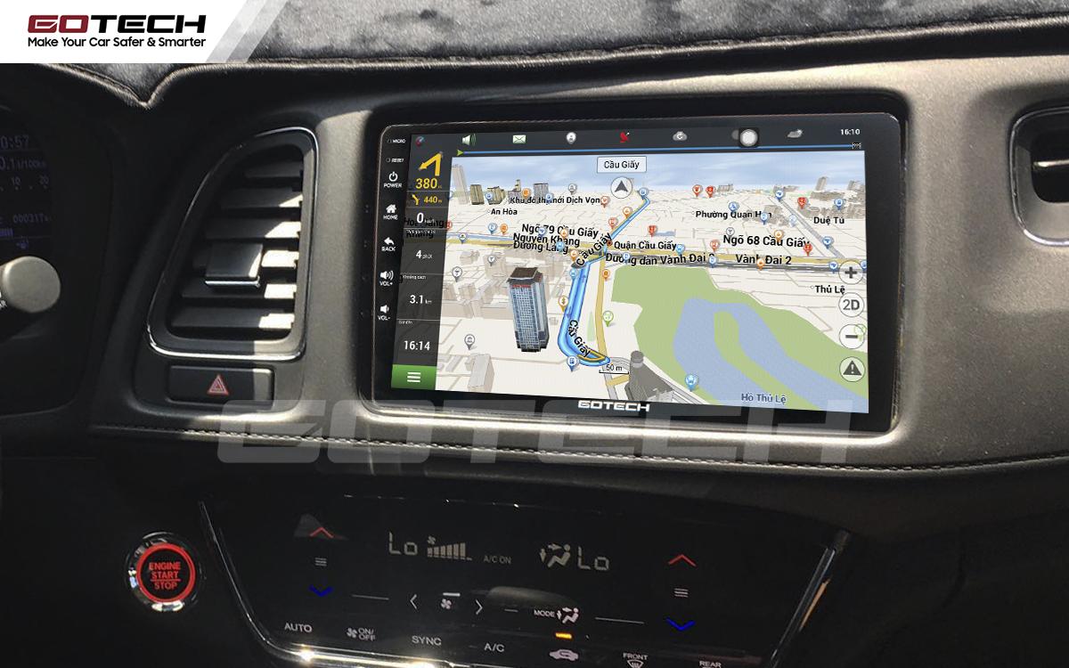 Các ứng dụng dẫn đường thông minh trên màn hình ô tô GOTECH