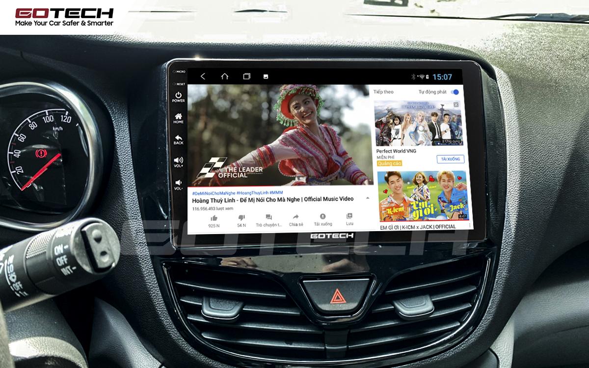 Các ứng dụng giải trí vô tận trên màn hình Android ô tô GOTECH cho xe Vinfast Fadil