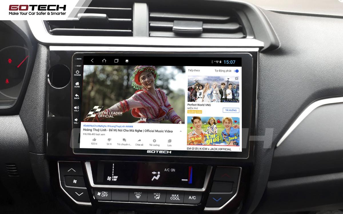 Thế giới giải trí vô tận trên màn hình ô tô thông minh GOTECH