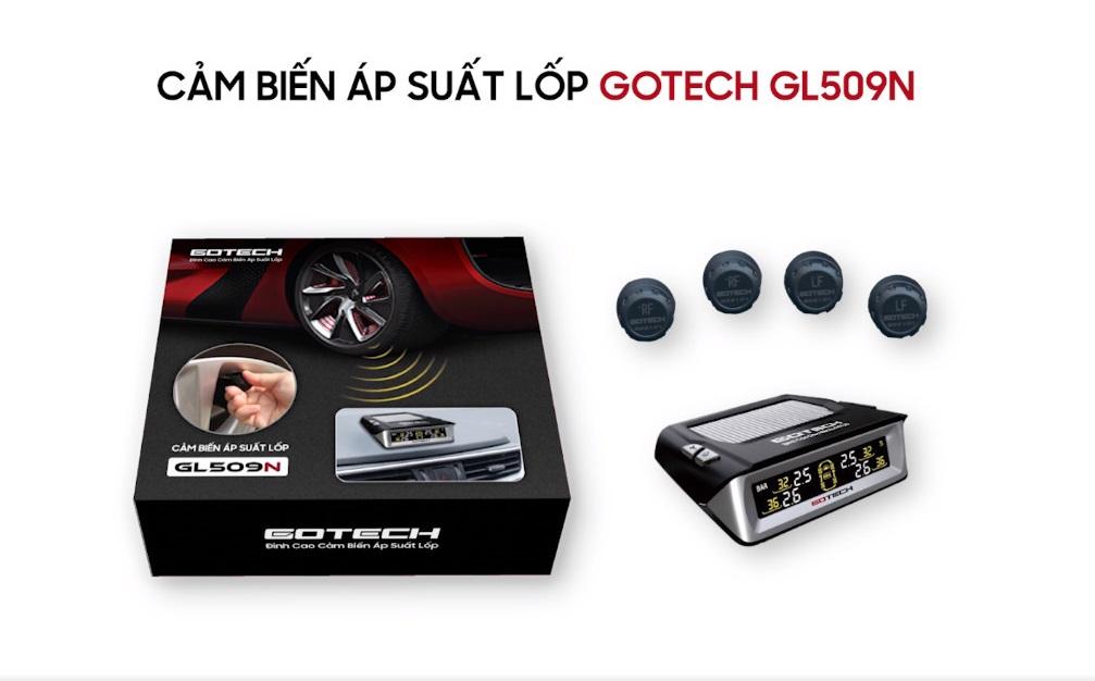 Bộ cảm biến áp suất lốp GOTECH GL509N.