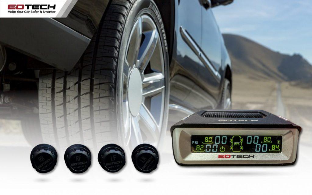 Khi lốp có dấu hiệu bất thường, cảm biến áp suất lốp ô tô GOTECH GL509N lập tức gửi tín hiệu cảnh báo đến người lái bằng âm thanh và hình ảnh