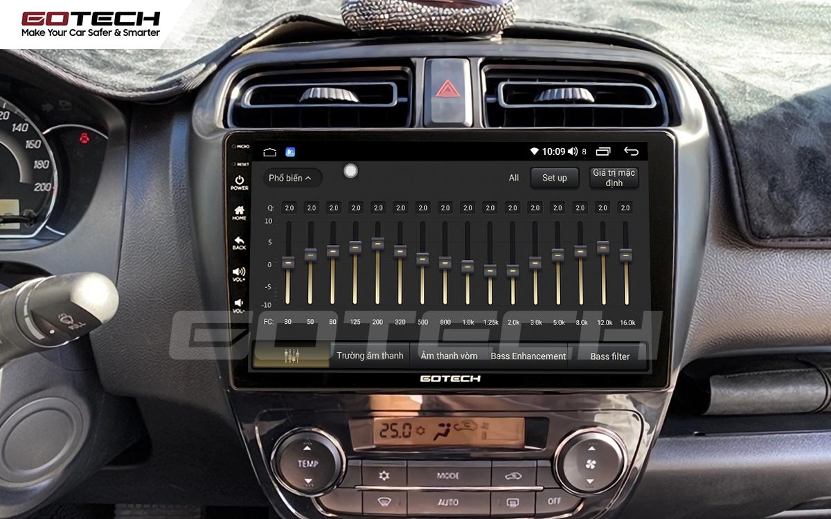 DSP 32 kênh trên màn hình ô tô thông minh Gotech.