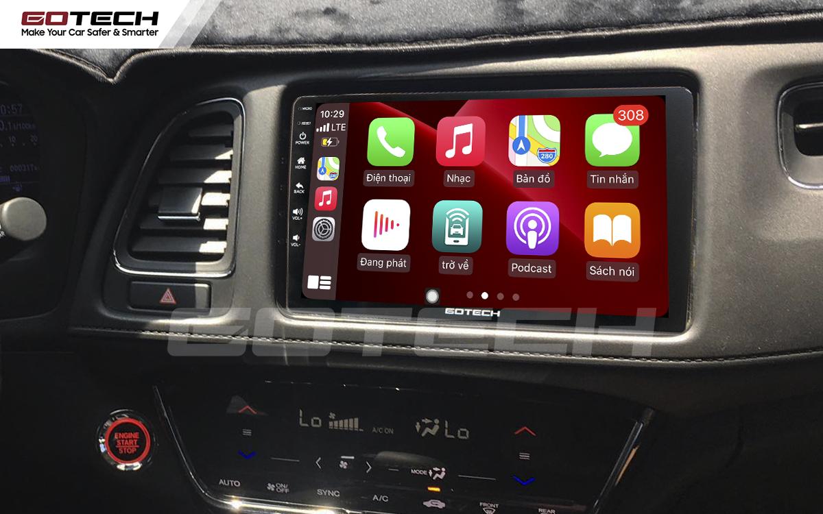 Kết nối Apple Carplay không dây trên màn hình ô tô thông minh GOTECH