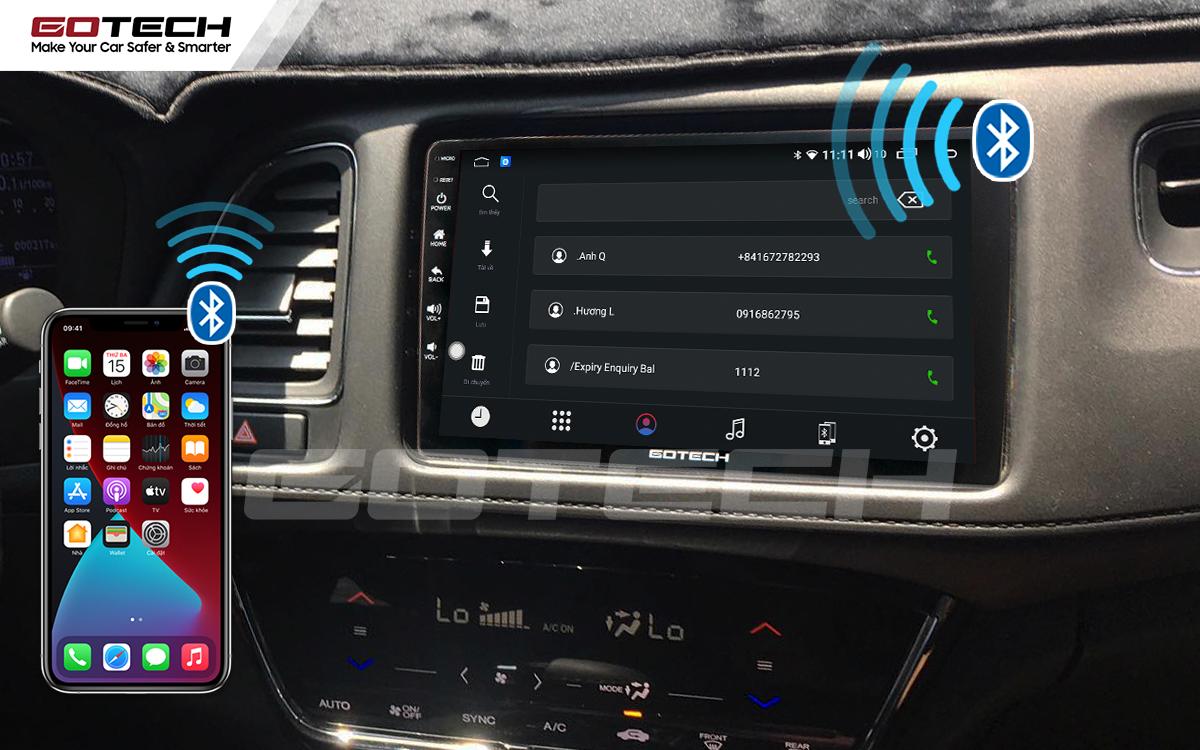 Kết nối bluetooth nghe gọi điện thoại rảnh tay trên màn hình GOTECH