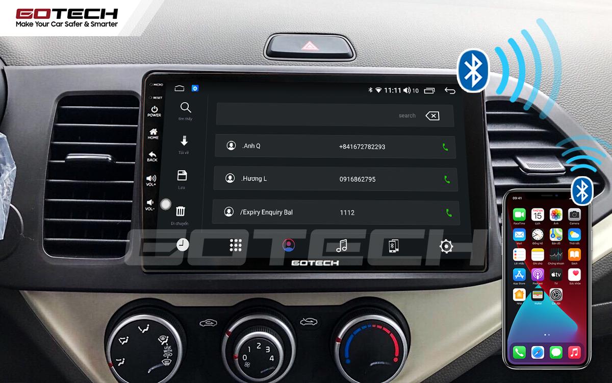 Kết nối với điện thoại thông minh lái xe an toàn