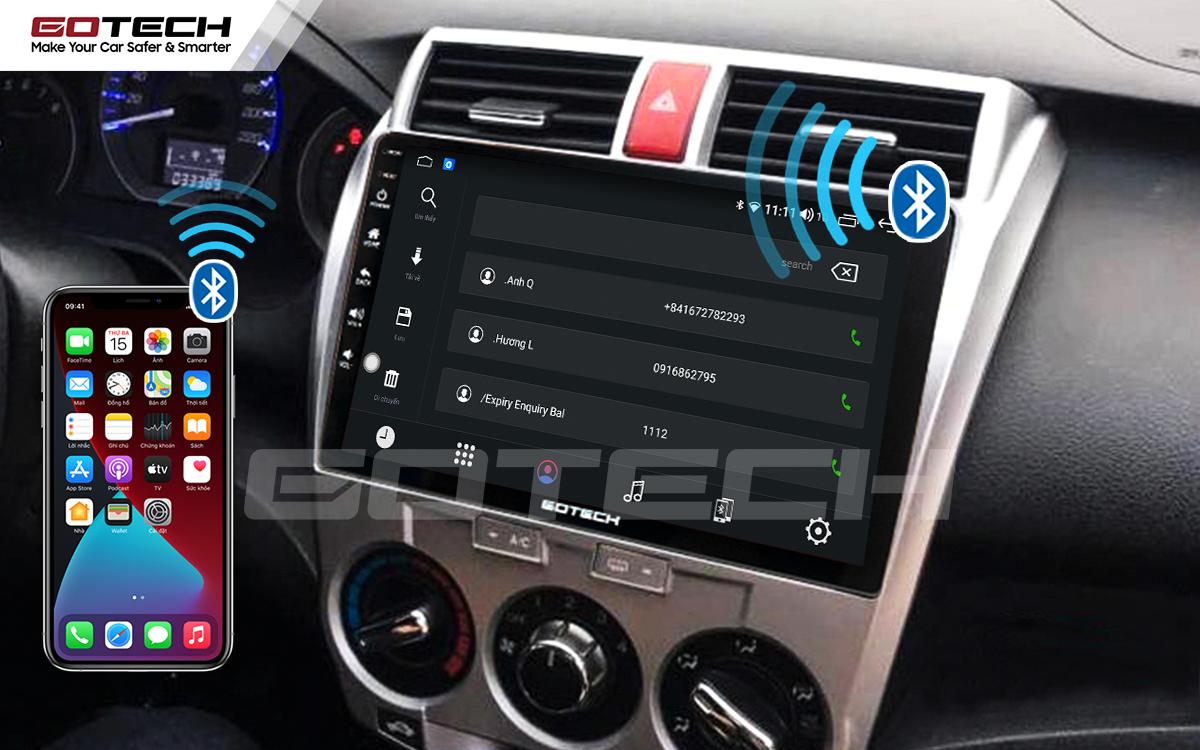 Kết nối Bluetooth trên màn hình ô tô thông minh GOTECH