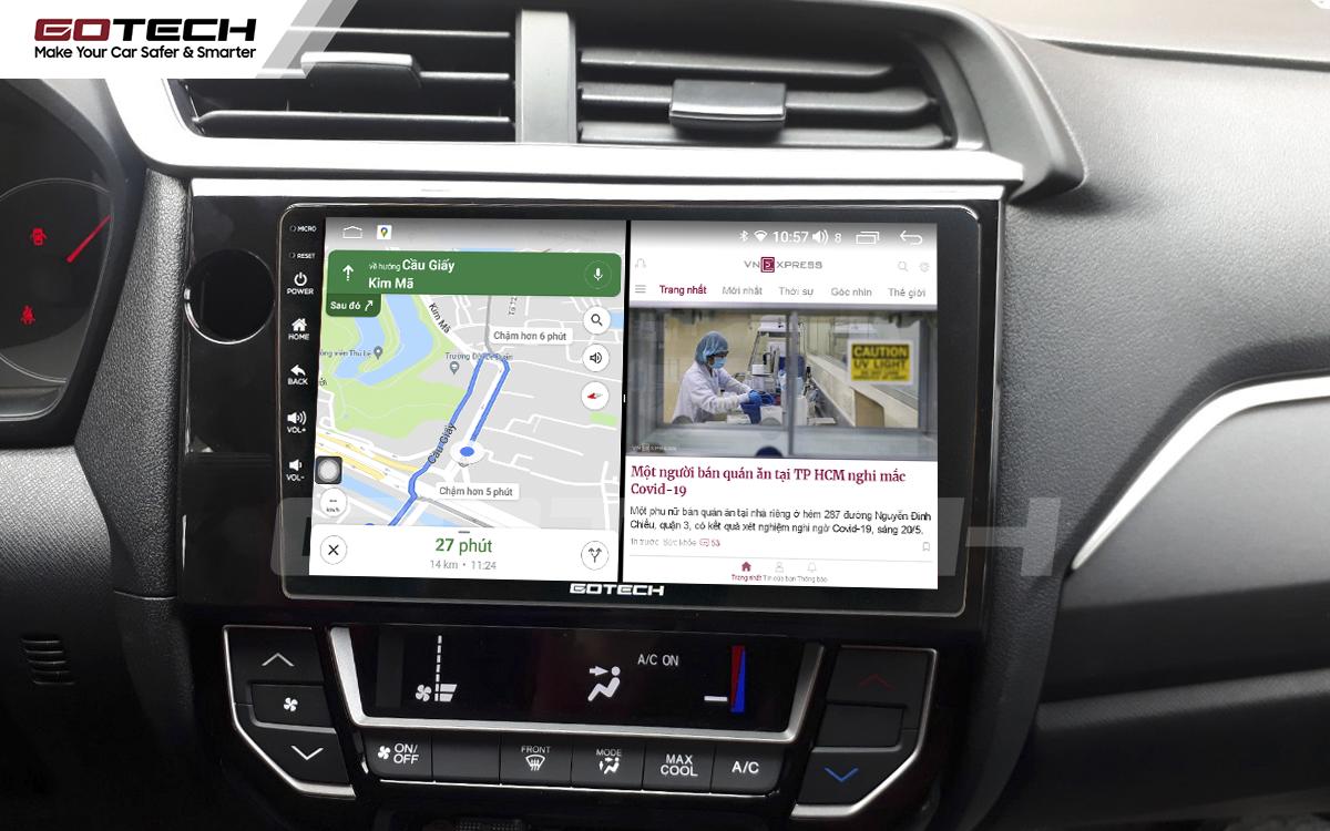 Chạy đa nhiệm ứng dụng trên màn hình ô tô GOTECH
