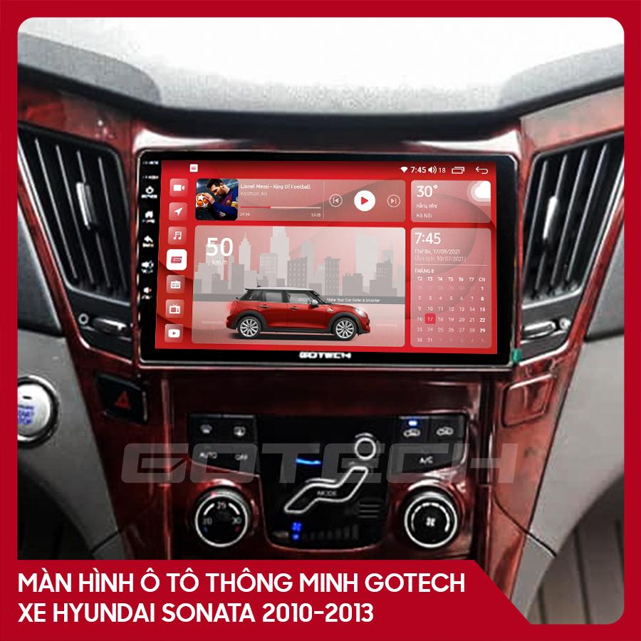 Màn hình ô tô GOTECH cho xe Hyundai Sonata 2010-2013