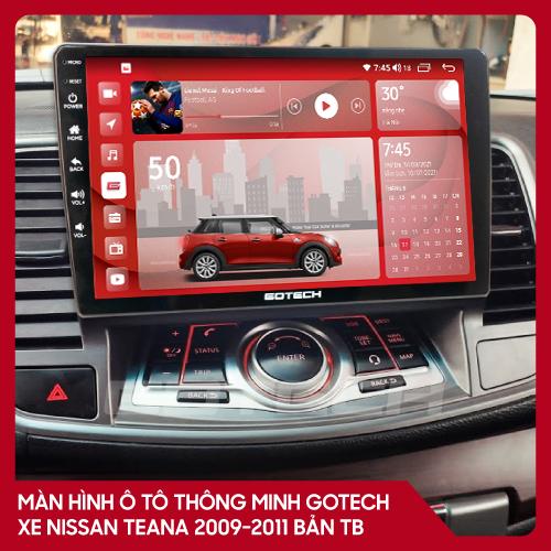 Màn hình ô tô GOTECH cho xe Nissan Teana 2009-2011