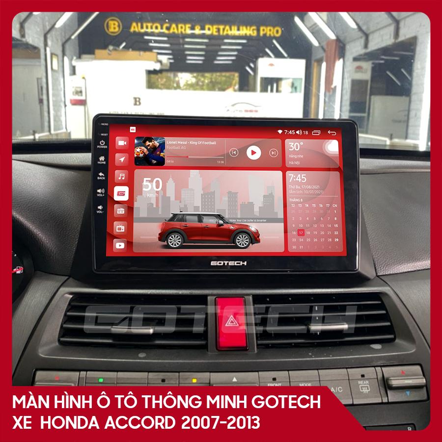 Màn hình ô tô GOTECH cho xe Honda Accord 2007-2013