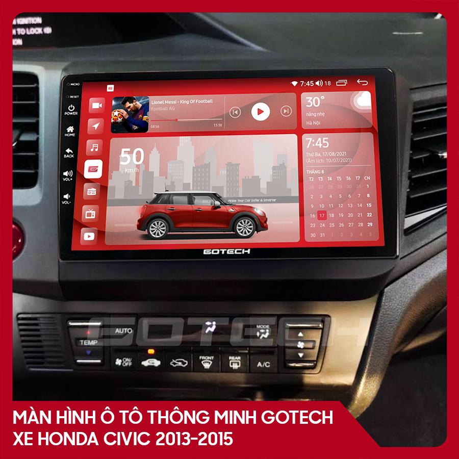 Màn hình ô tô GOTECH cho xe Honda Civic 2013-2015