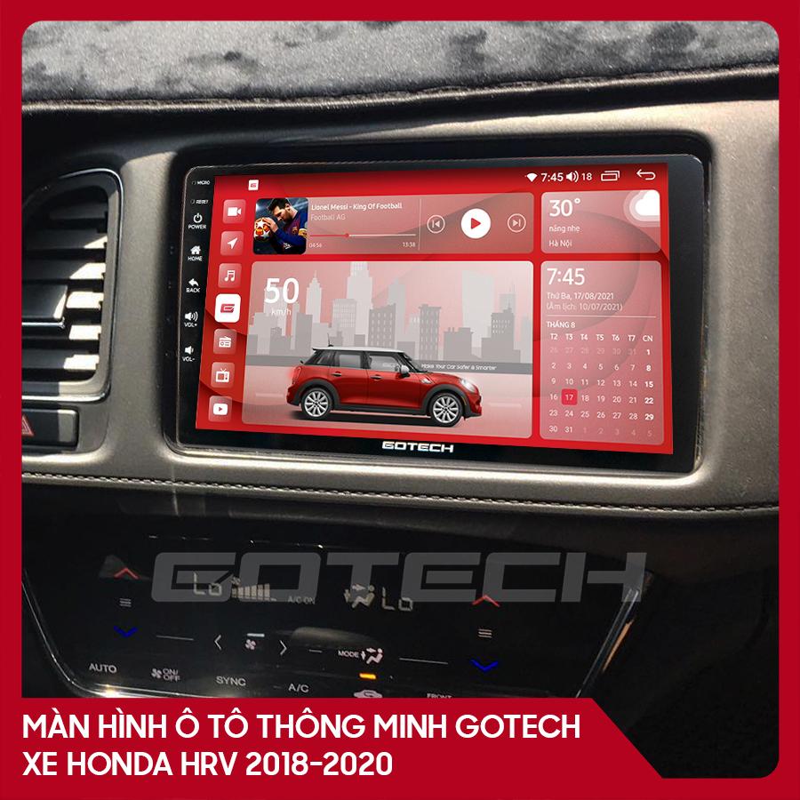 Màn hình ô tô GOTECH cho xe Honda HRV 2018-2020