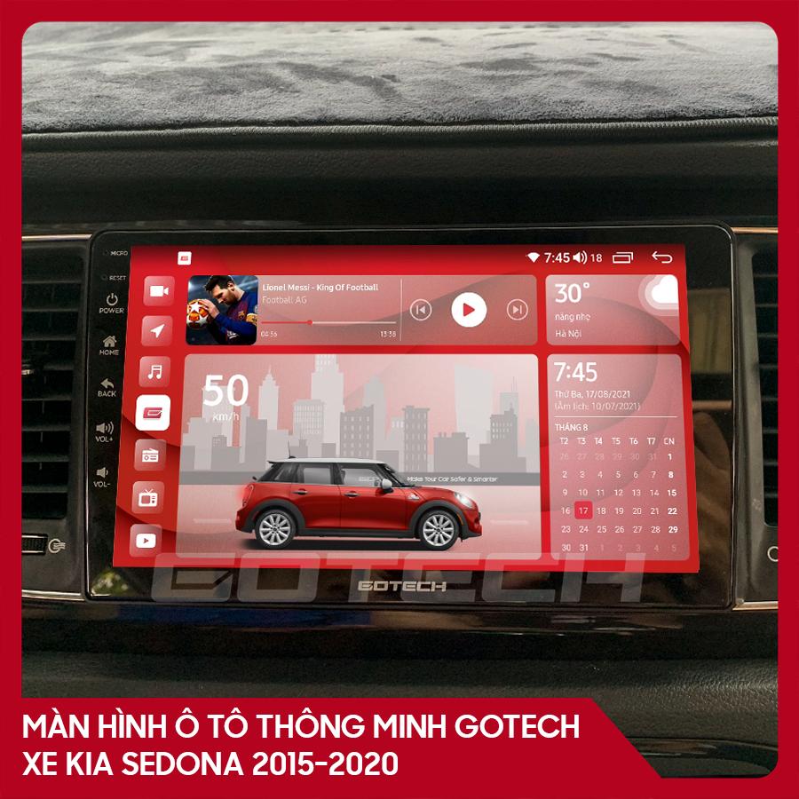 Màn hình ô tô GOTECH cho xe Kia Sedona 2015-2020