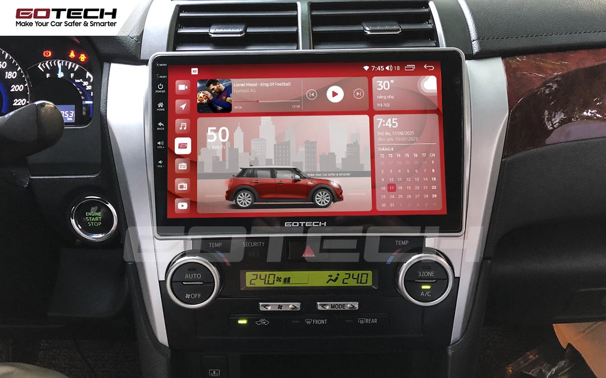 Màn hình rộng 10 inch cho xe Toyota Camry 2015-2018