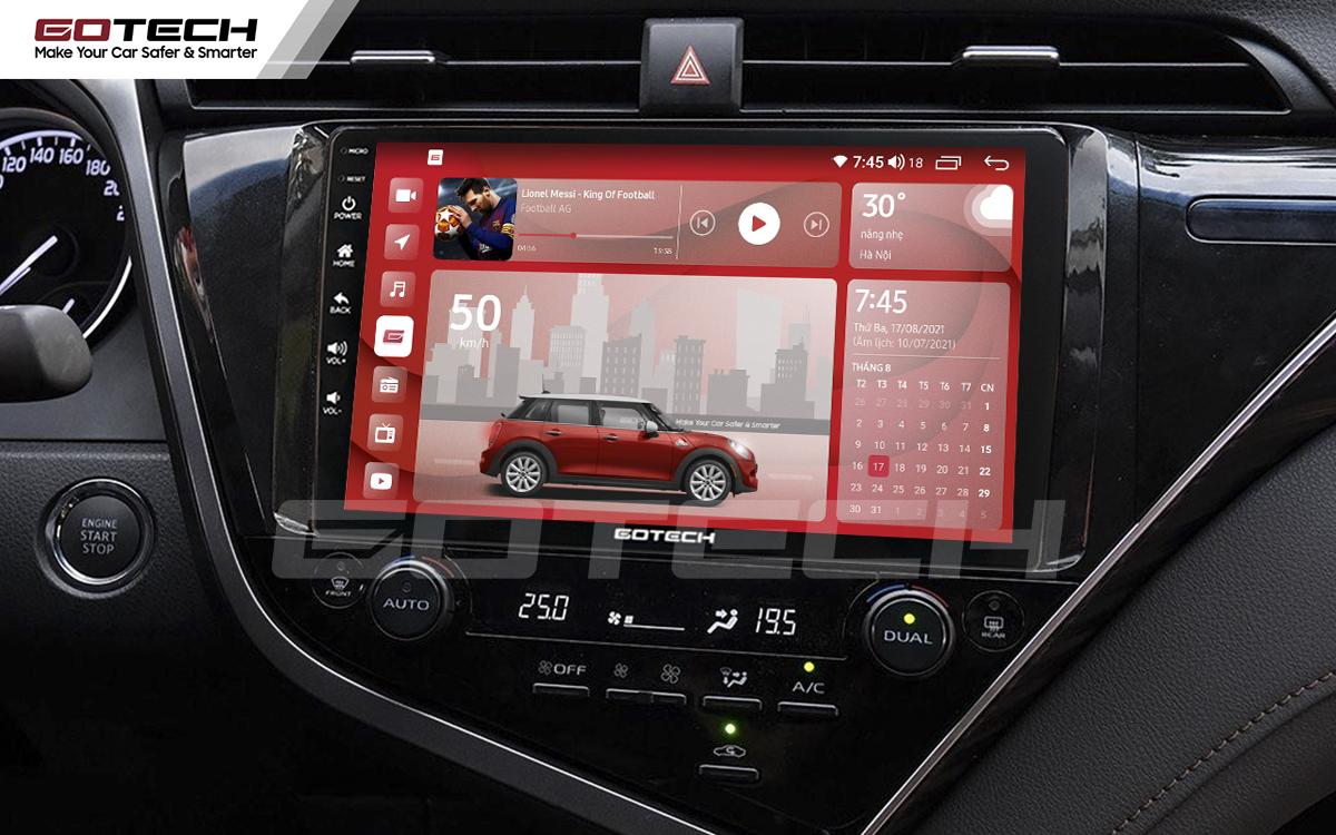 Màn hình rộng 10 inch cho xe Toyota Camry 2019-2020