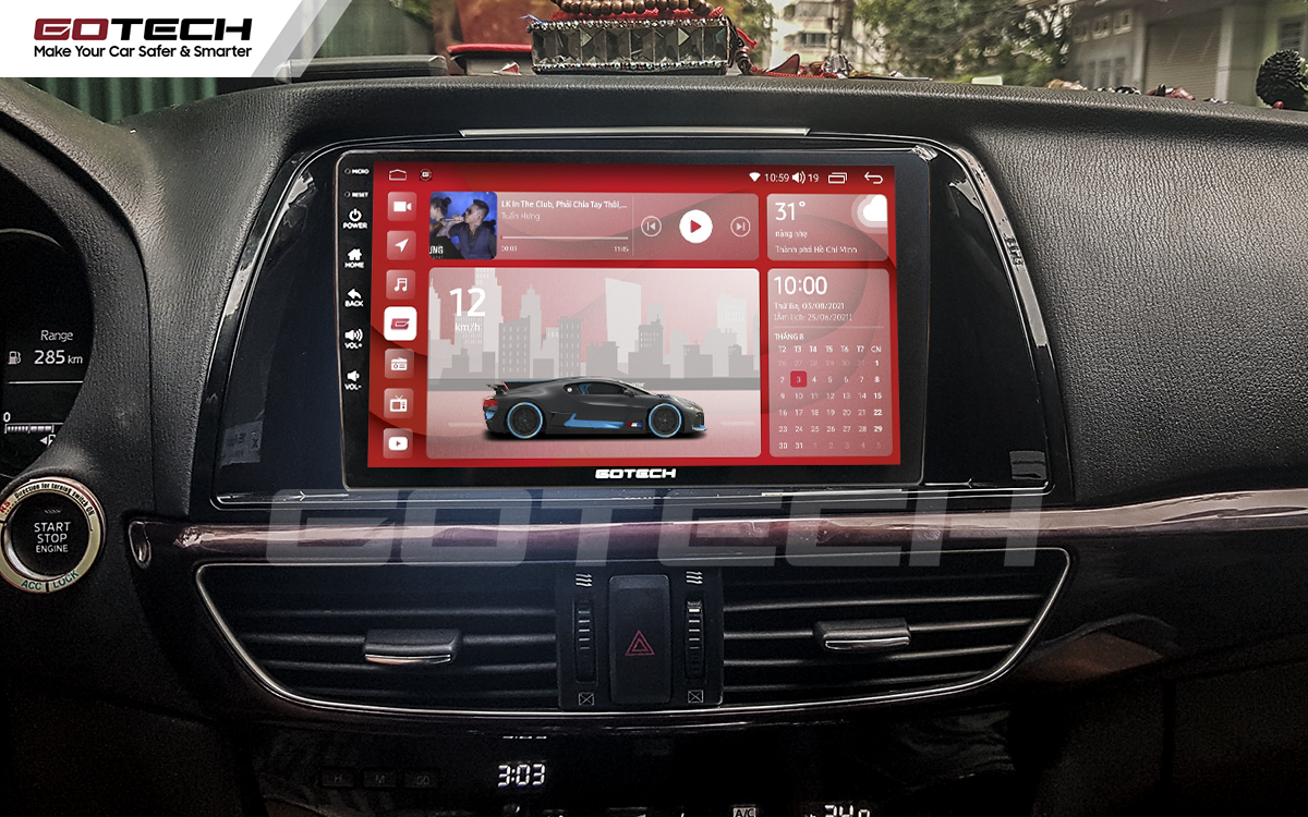 Màn hình rộng 9 inch cho xe Mazda 6 2014-2016