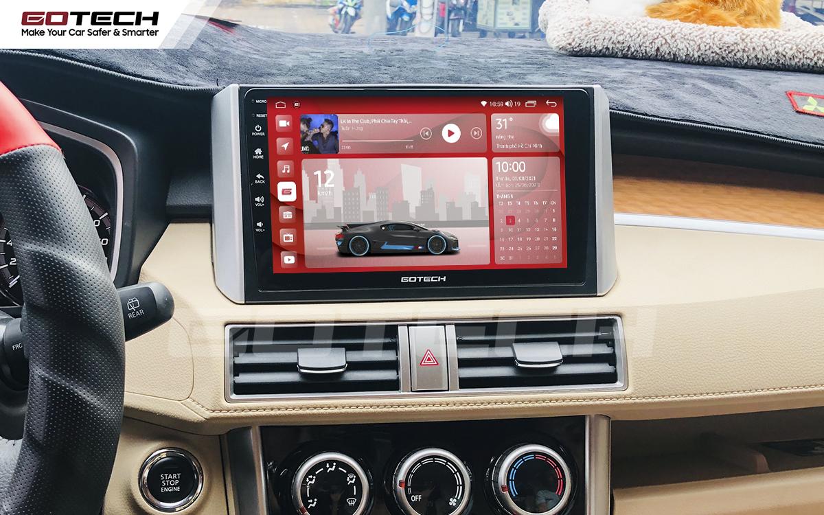 Màn hình rộng 10 inch cho xe Mitsubishi Xpander 2018-2020