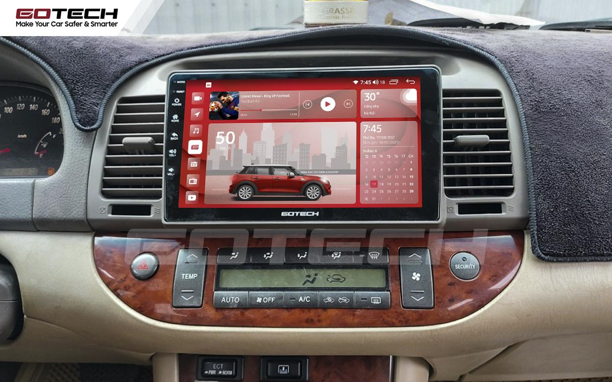 Màn hình rộng 9 inch cho xe Toyota Camry 2003-2006