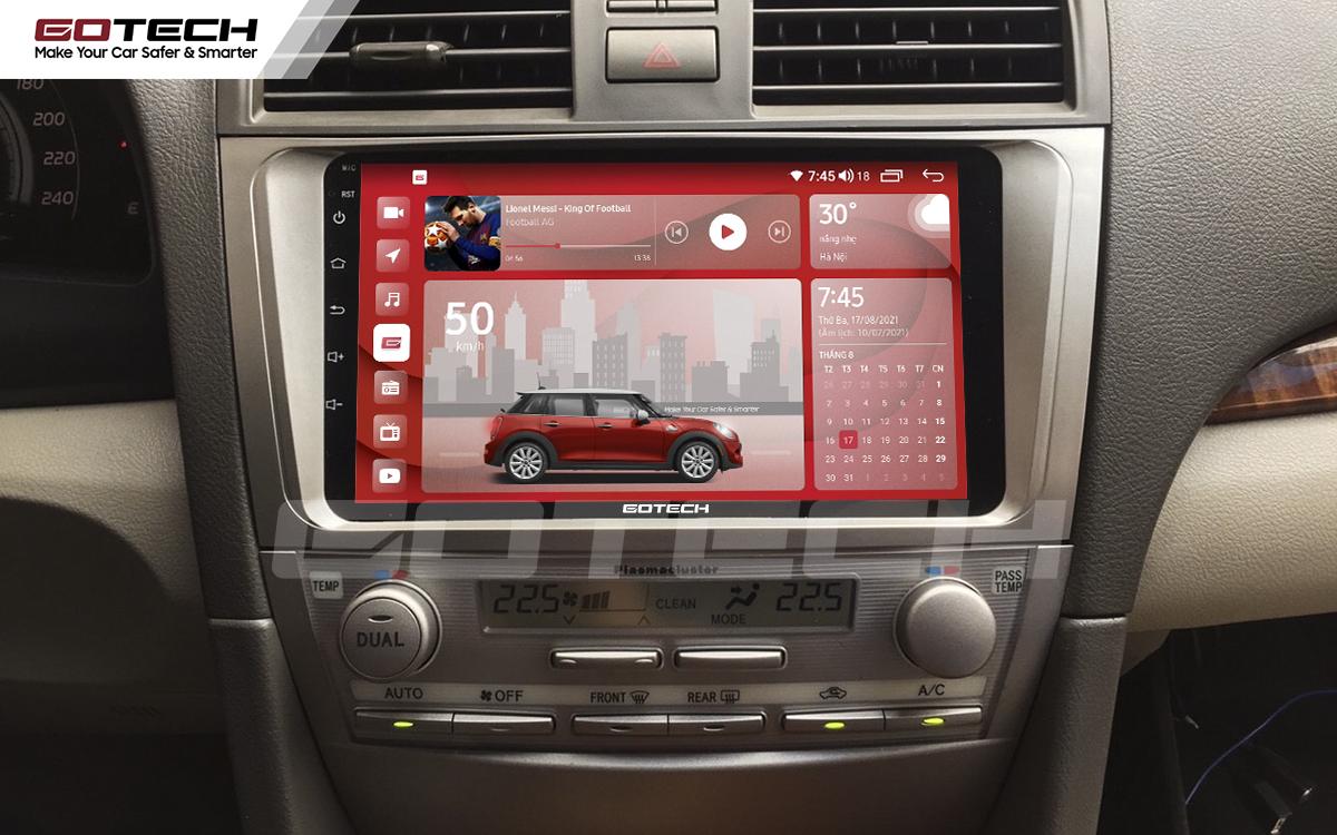 Màn hình rộng 9 inch cho xe Toyota Camry 2007-2012