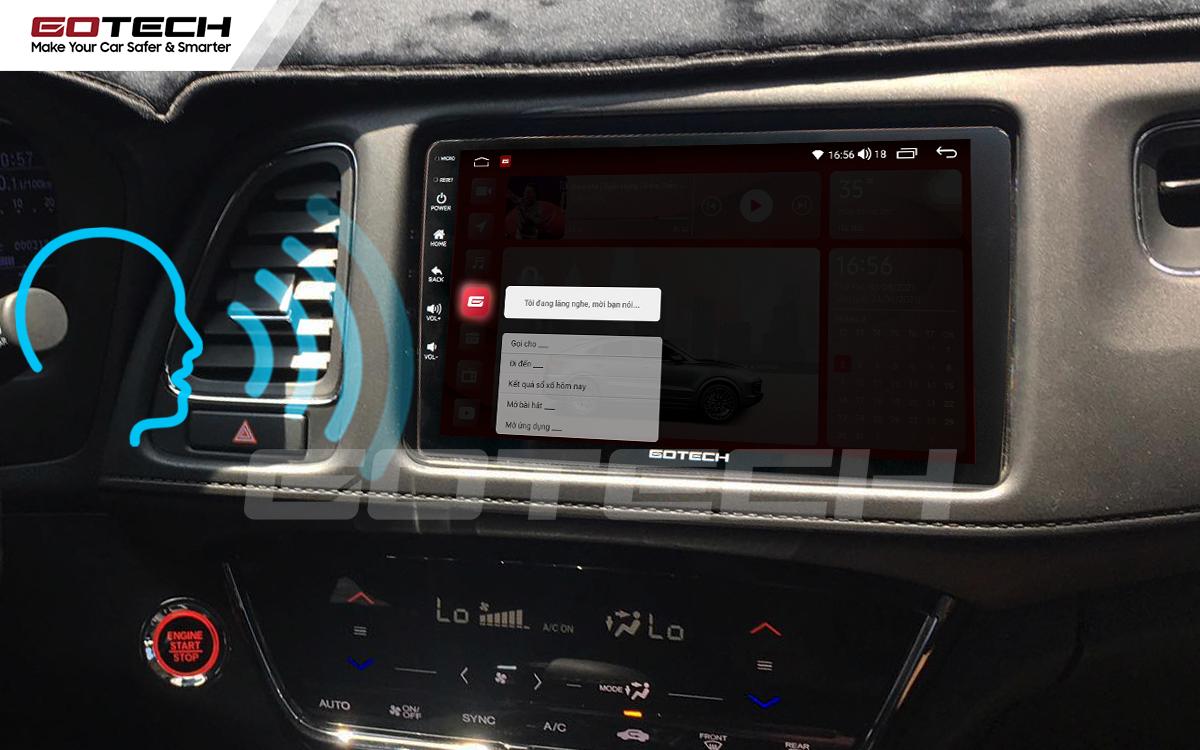 Ra lệnh giọng nói thông minh trên màn hình ô tô GOTECH