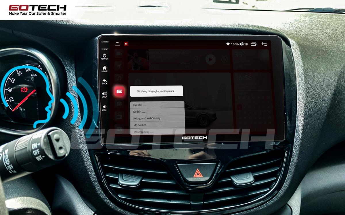 Ra lệnh giọng nói thông minh trên màn hình ô tô GOTECH cho xe Vinfast Fadil