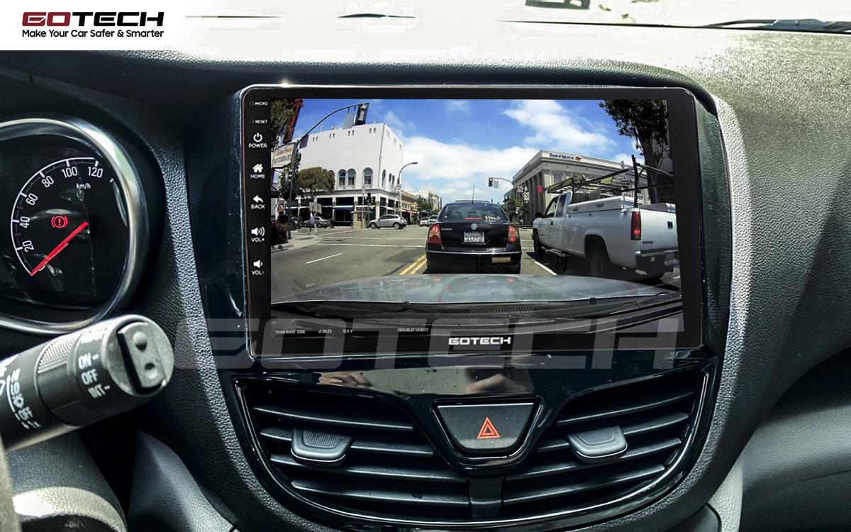 Tích hợp các loại camera hỗ trợ quan sát khi lái xe