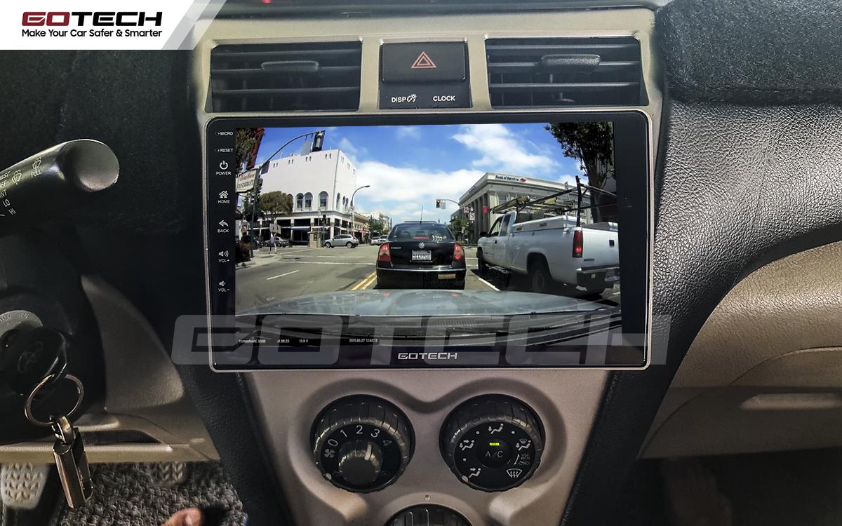 Tích hợp các thiết bị ngoại vi lên màn hình GOTECH cho xe Vios 2008 - 2013