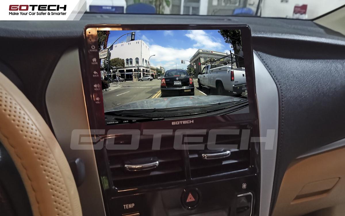 Tích hợp các thiết bị ngoại vi lên màn hình ô tô GOTECH cho xe Vios G 2019 - 2020