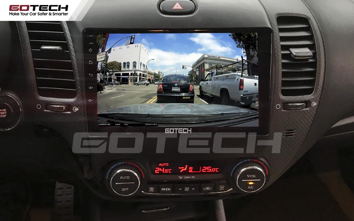 Màn hình GOTECH tích hợp các thiết bị ngoại vi hỗ trợ lái xe an toàn